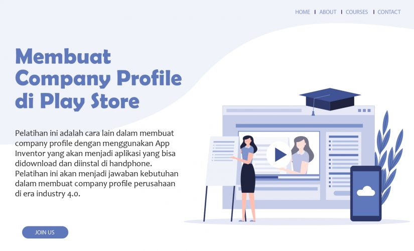 Membuat Company Profile di PlayStore