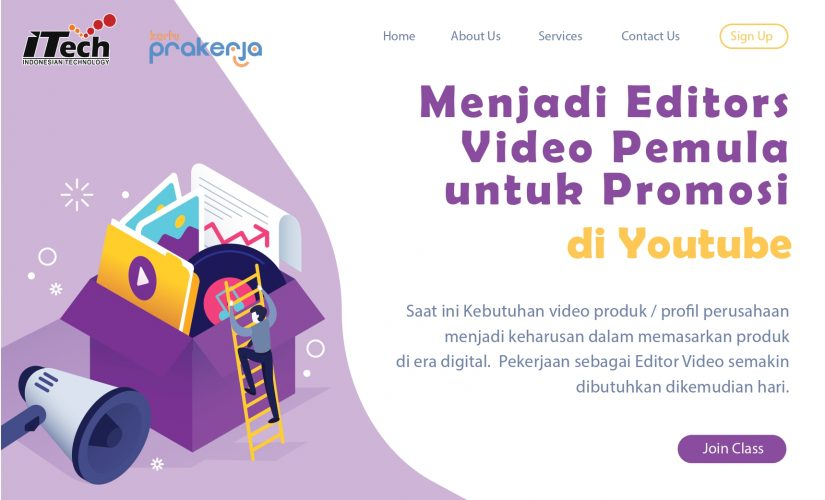 Editor Video Promosi Di Youtube