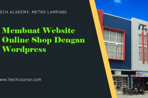 Membuat Website Online Shop Dengan WordPress